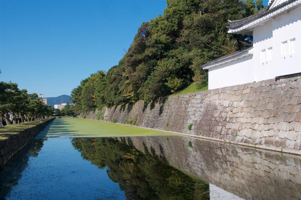 Outer moat of Nijo Castle