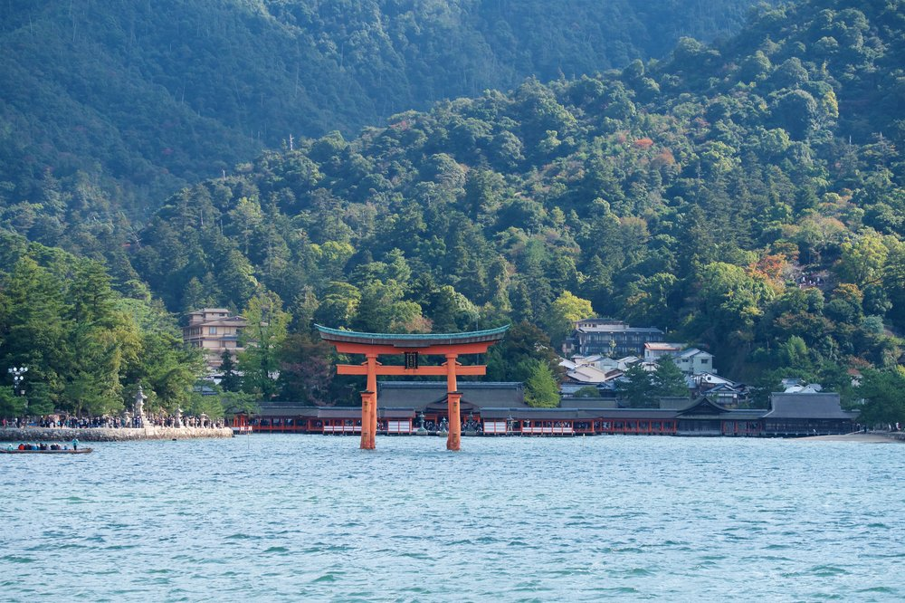 Otorii from the ferry
