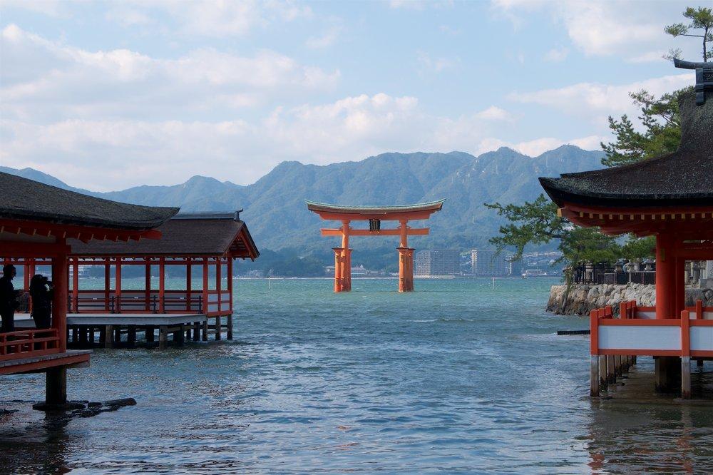 Itsukushima-jinga and Otorii