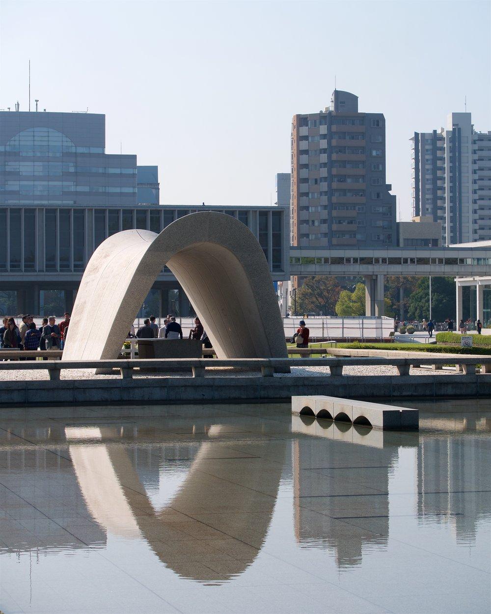 Pond, cenotaph