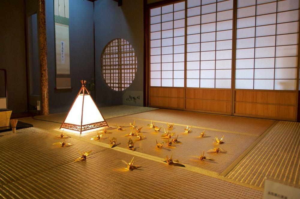 Gold tatami room