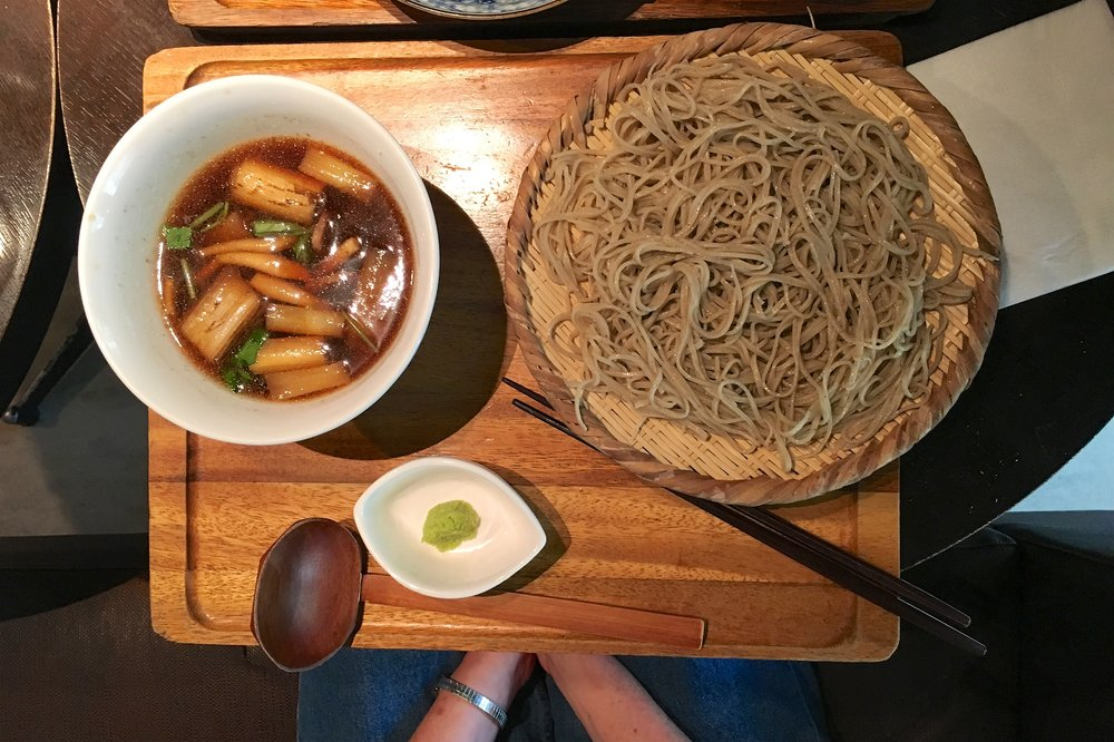Duck soba