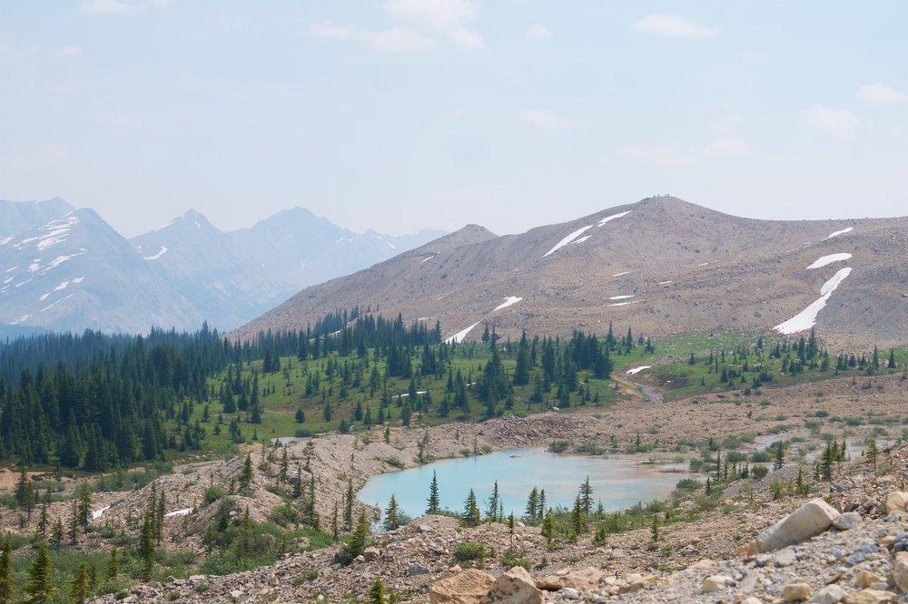 Glacial ponds