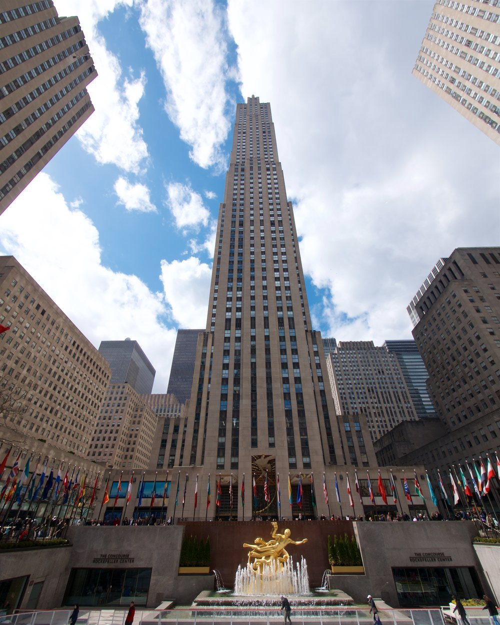 Comcast building, Rockefeller Center