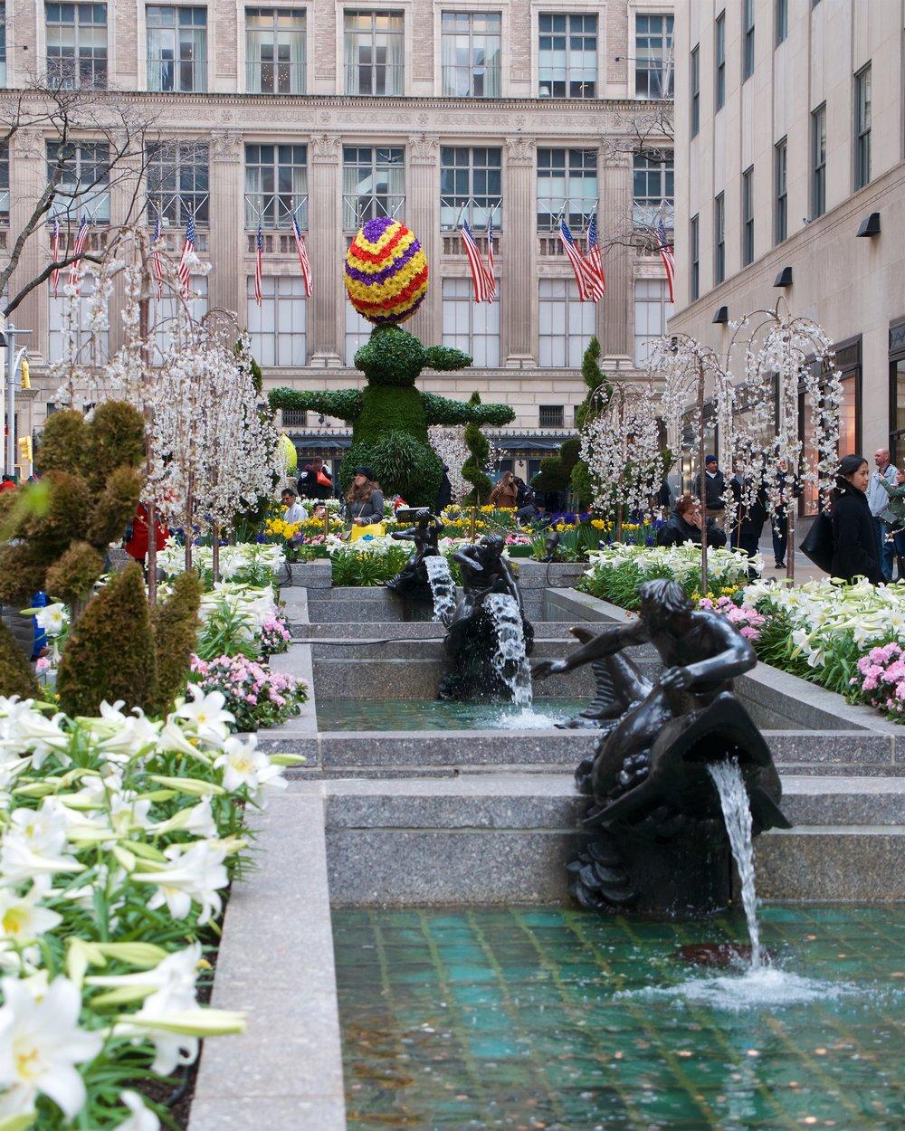 Rockefeller Center gardens