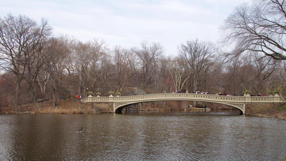 Bow Bridge over The Lake