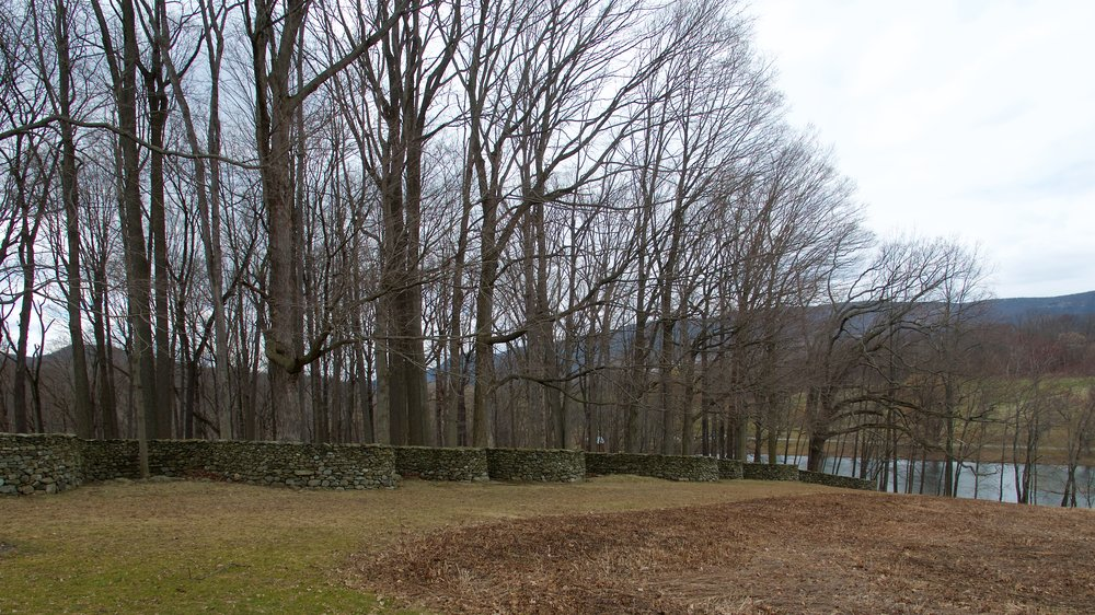 Storm King Wall, Andy Goldsworthy