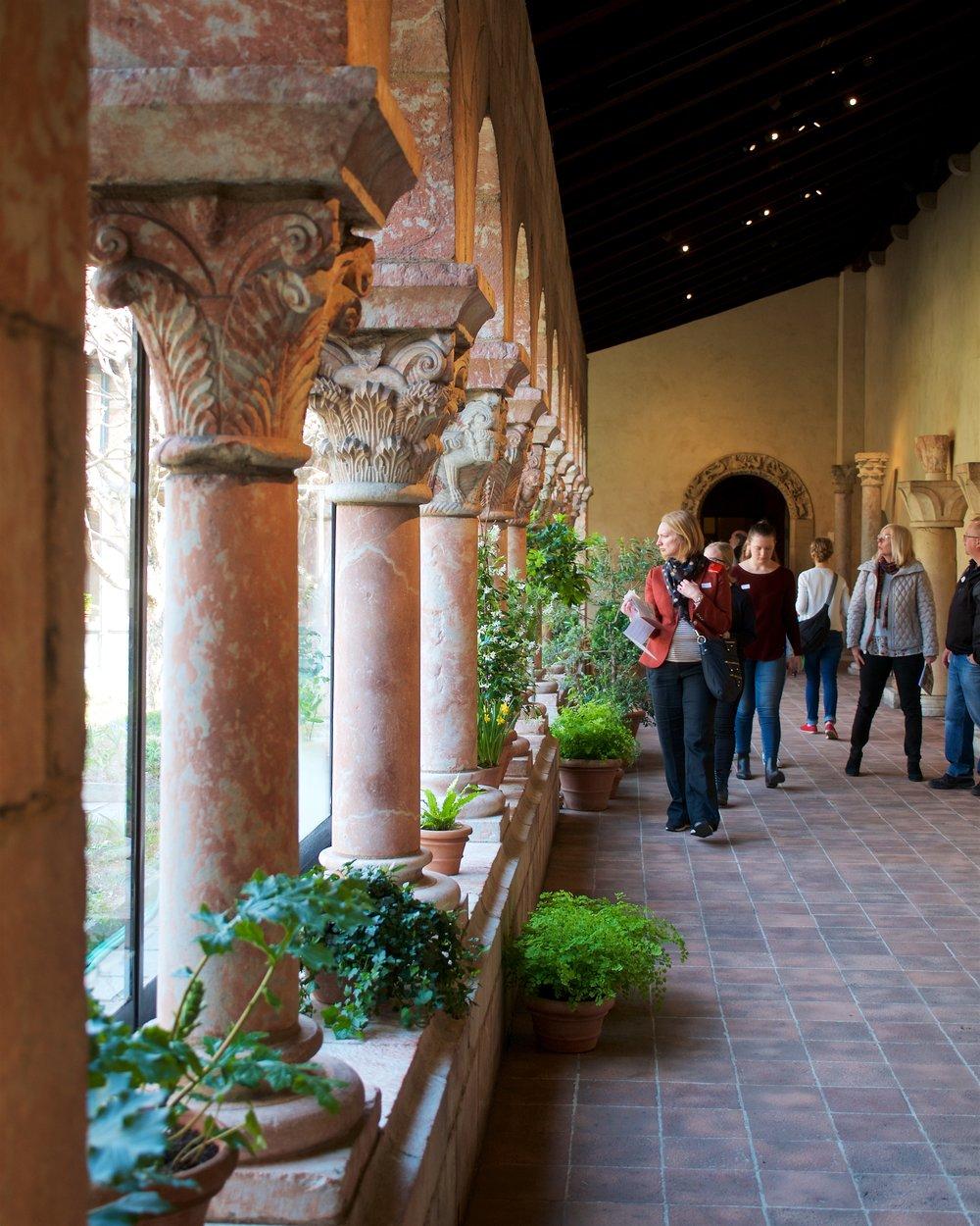 Cuxa cloister