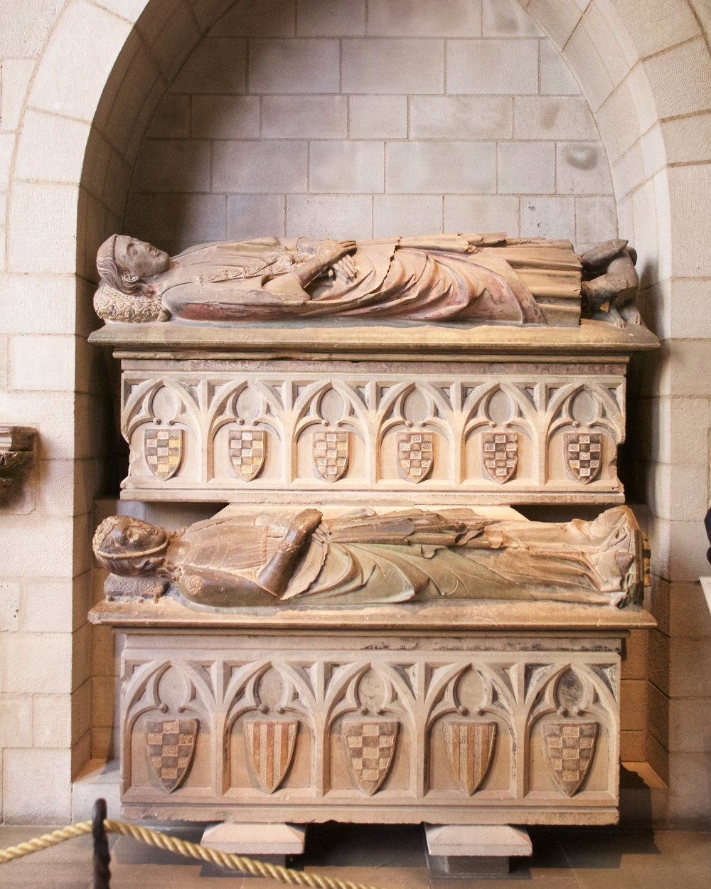 Double Tomb of Don Àlvar Rodrigo de Cabrera, Count of Urgell and His Wife Cecília of Foix