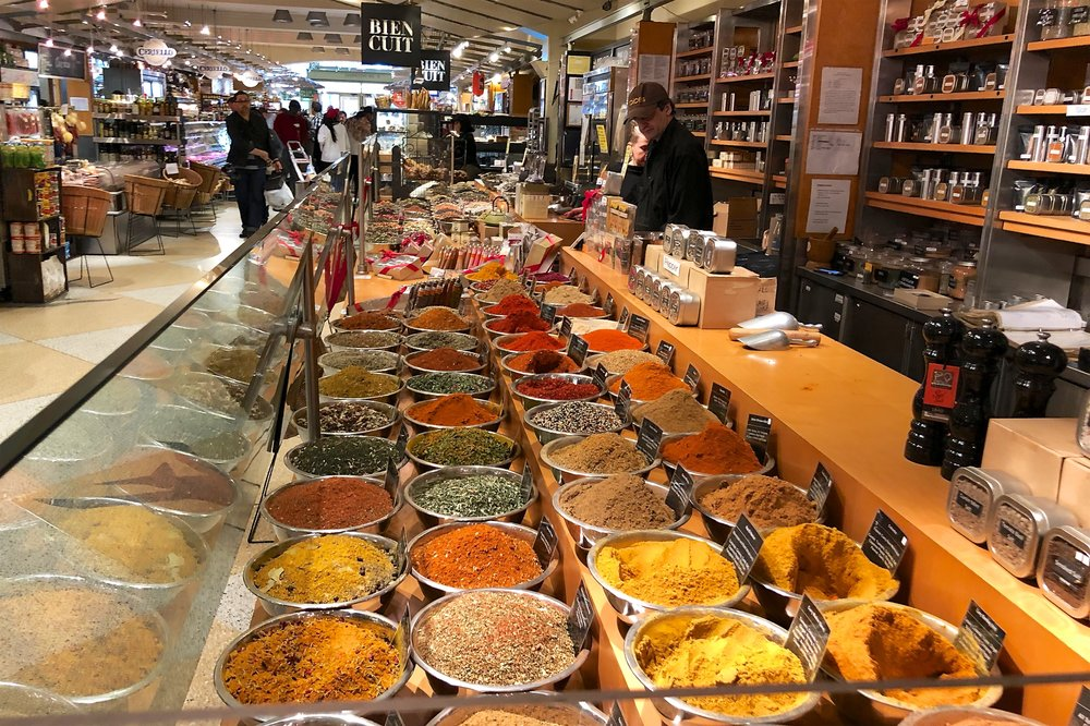 Spices in Grand Central Market