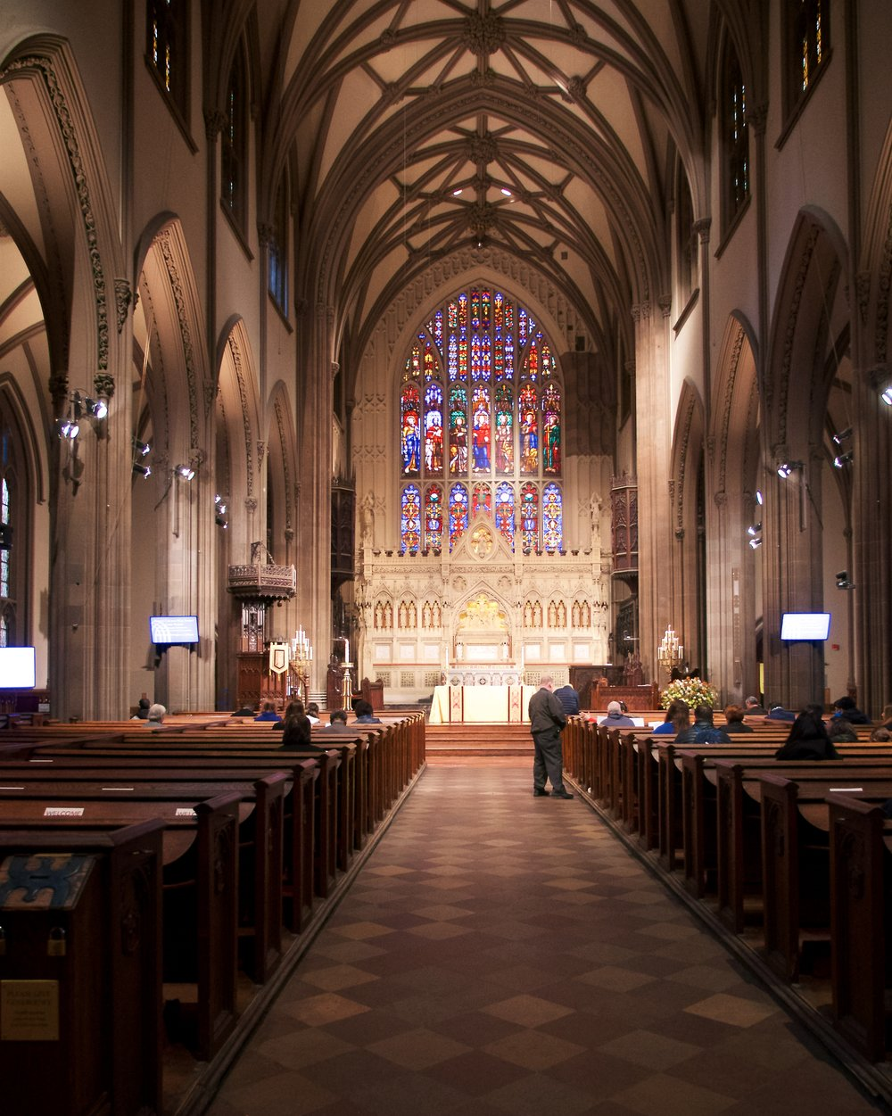 Interior of Trinity Church