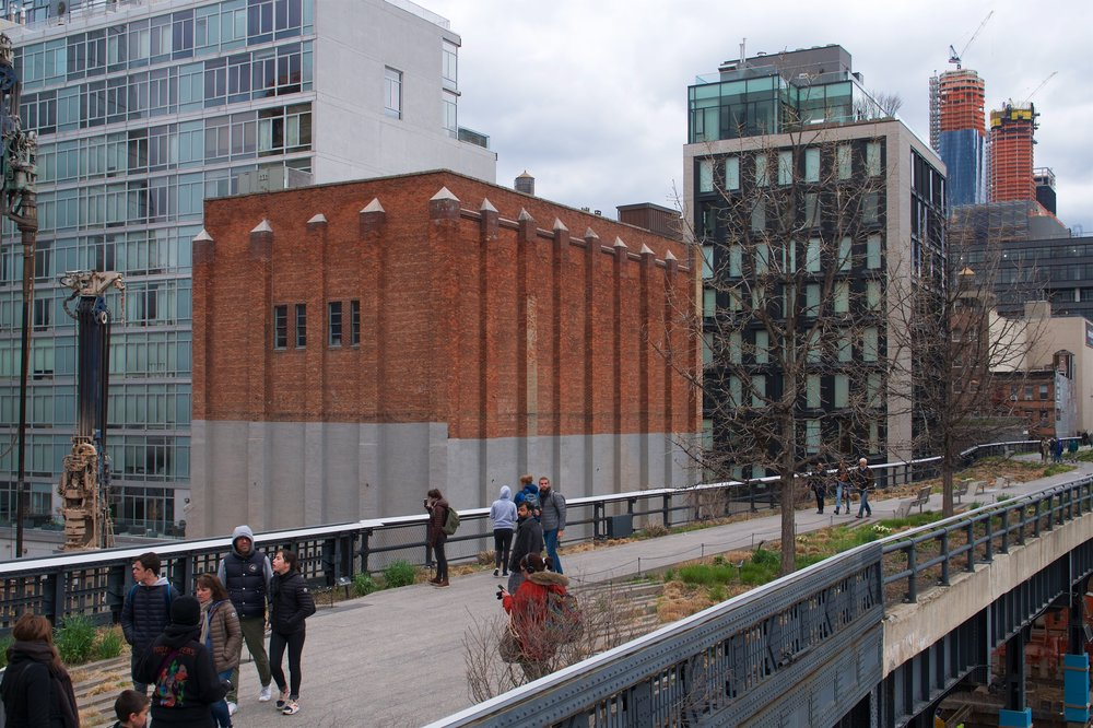 View of 10th Ave from the High Line