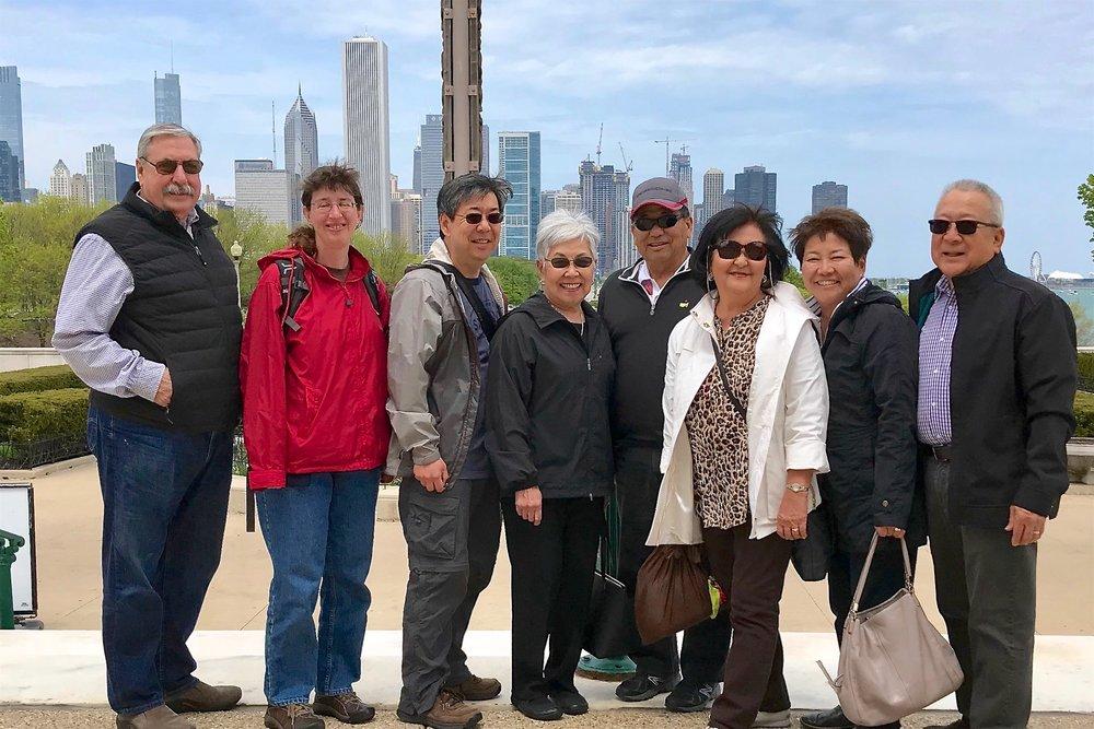 Group at the Field Museum (photo via Kathy Tashima)