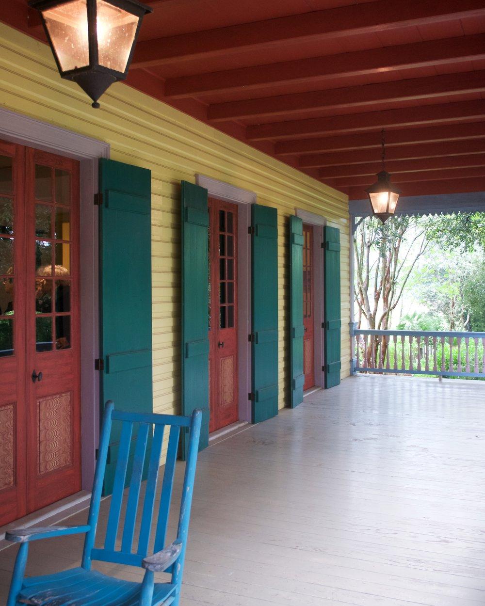 Main floor porch