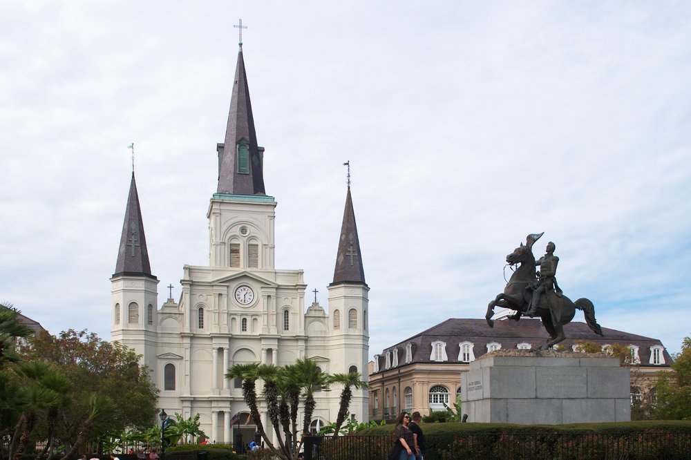 Saint Louis Cathedral, Andrew Jackson