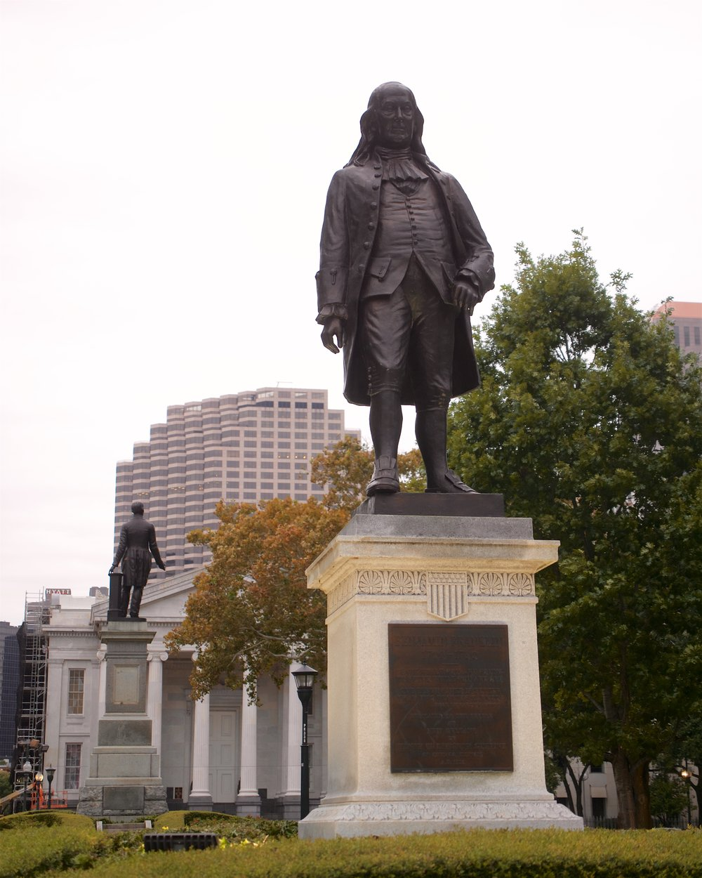 Statue of Benjamin Franklin at Lafayette Square