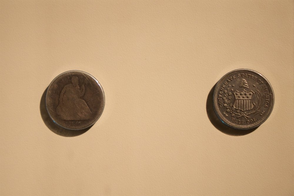 Confederate dollar coins