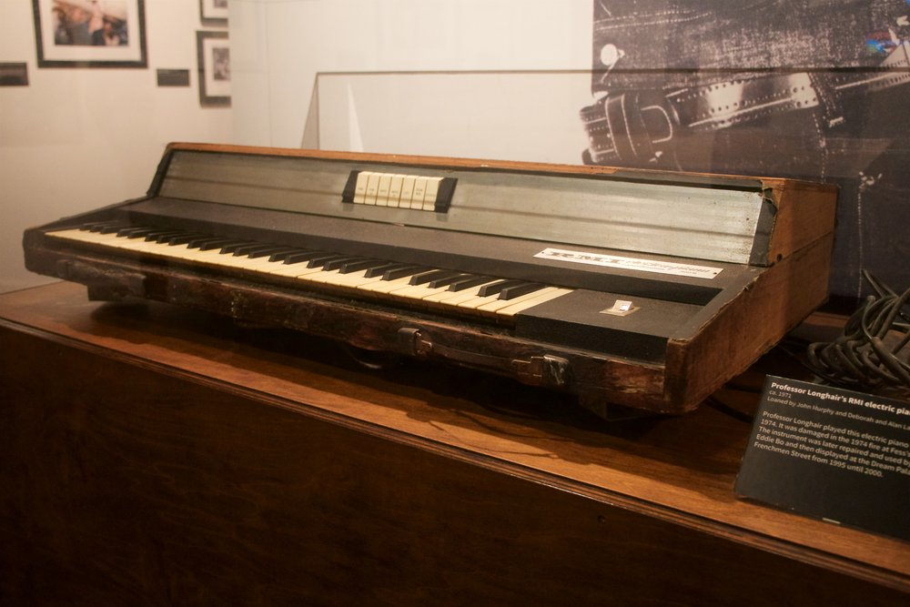 Professor Longhair's electric piano
