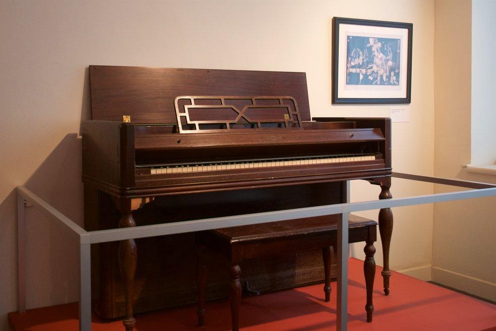 Dr. John's piano