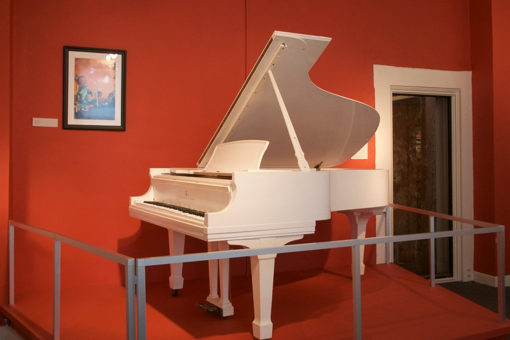 Fats Domino's piano