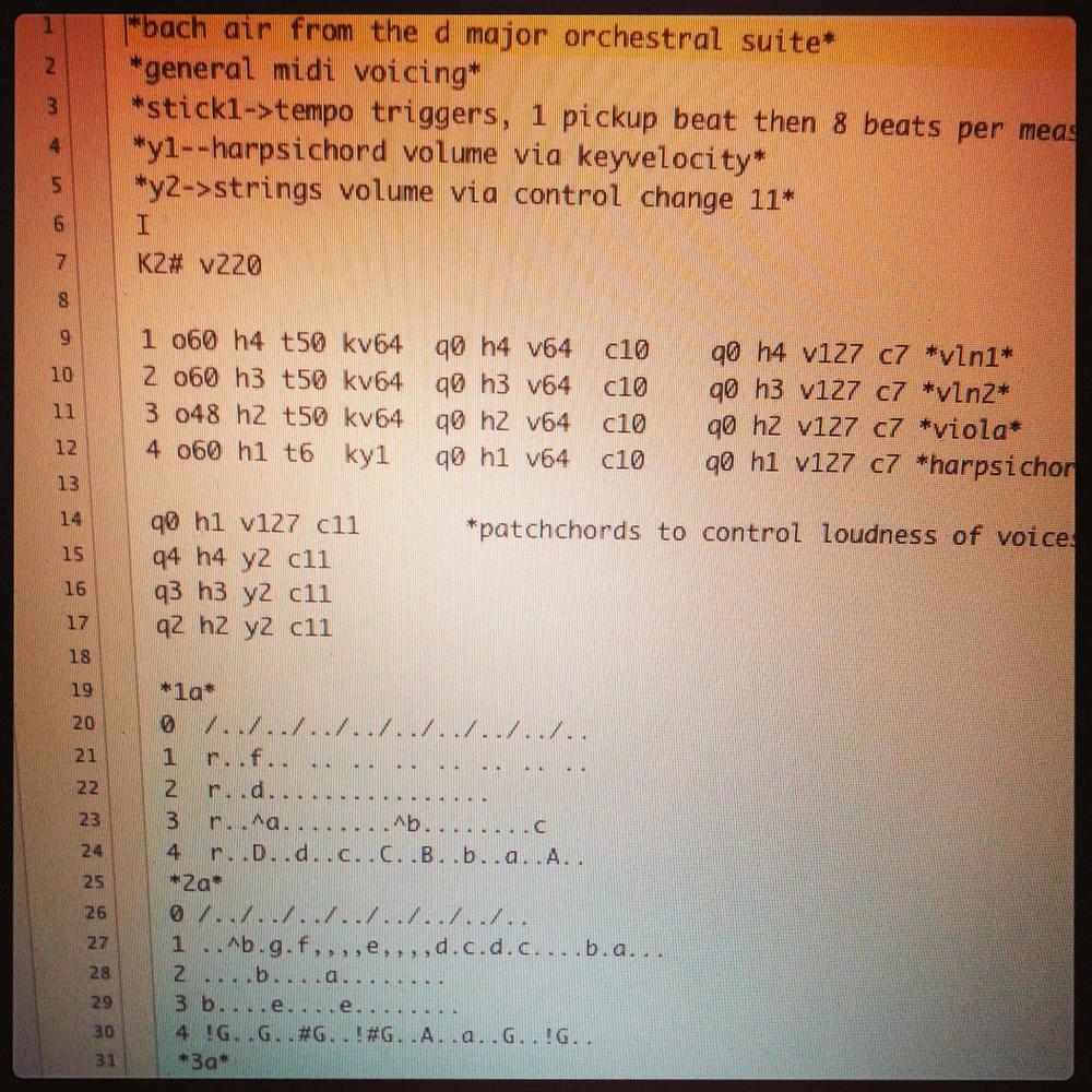 An actual Mathews Conductor score