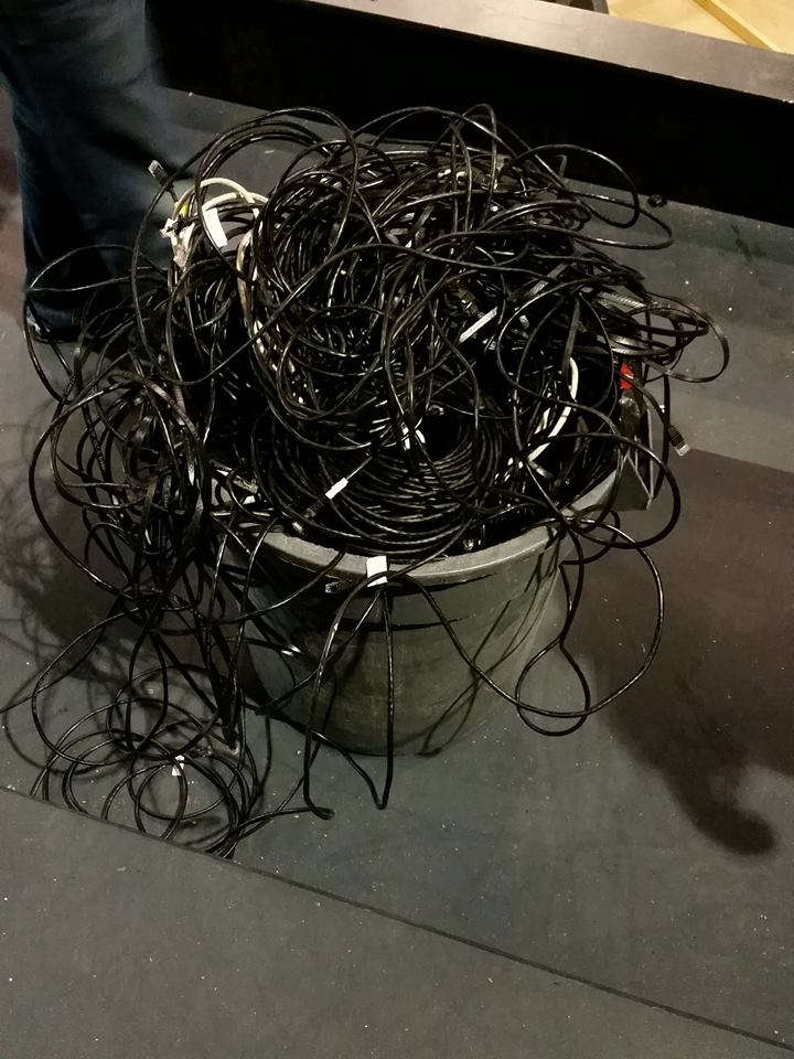 See? We used a lot of Ethernet.