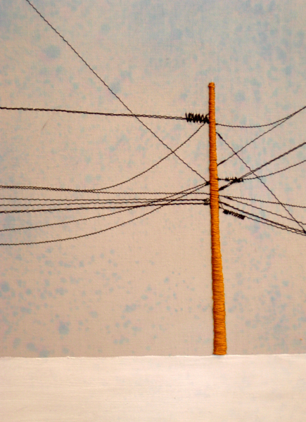 Power Line Triptych (Right side) (10x13)