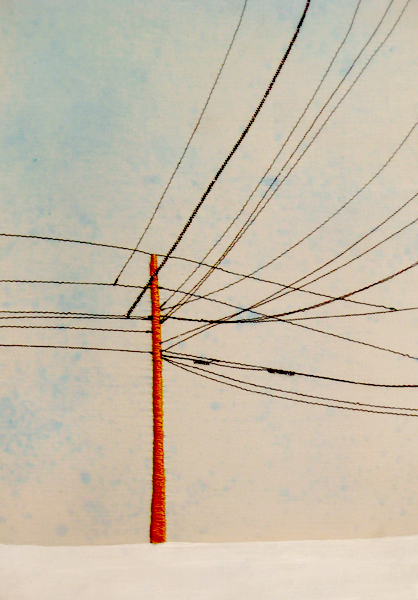 Power Line Triptych (Left Side) (10x13)
