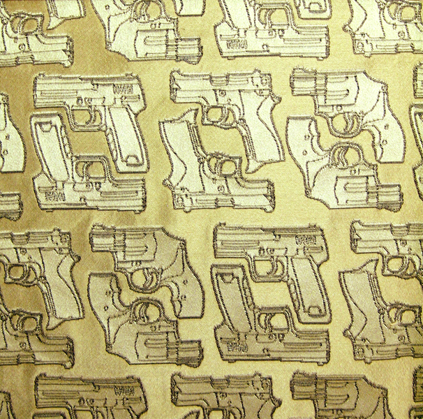 Copy of Silk Jacquard Sample - Golden Guns.jpg
