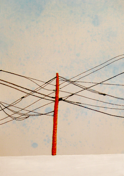 Power Line Triptych (Middle) (10x13)