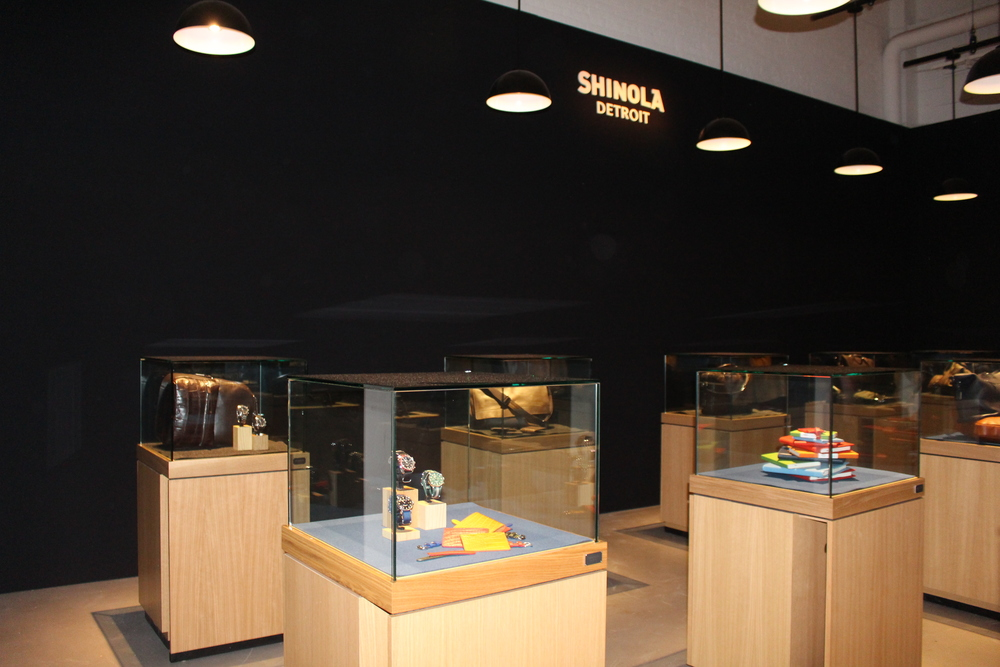 Shinola Detroit had some bomb accessories.