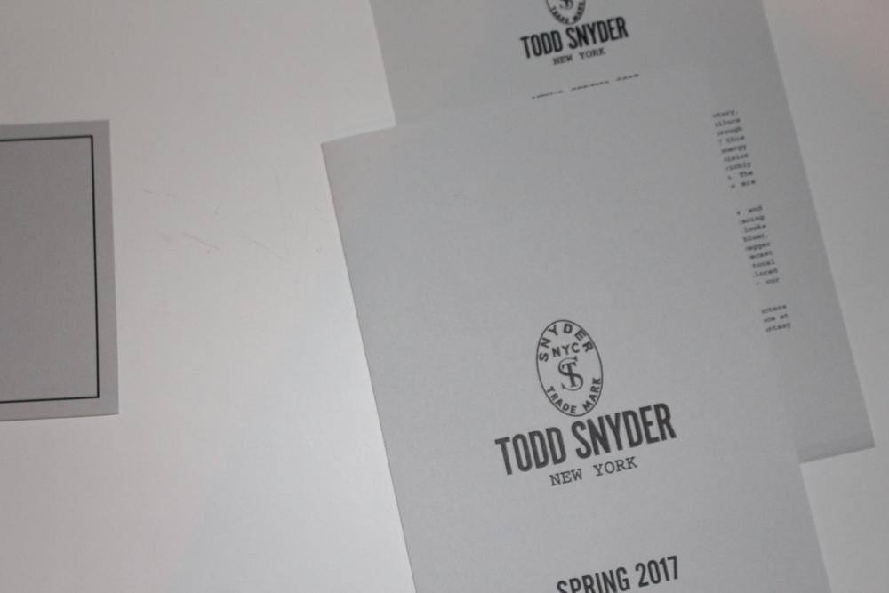 Todd Snyder SS '17