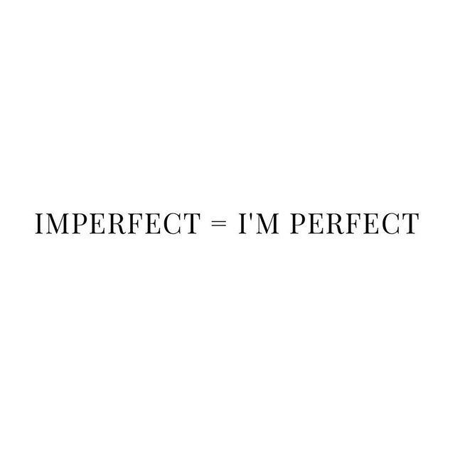 Even when you think you are imperfect, remember you are always perfect because you are YOU. - Click link on bio to read blog. #hearthappy #love #mind #body #soul #imperfectlyperfect