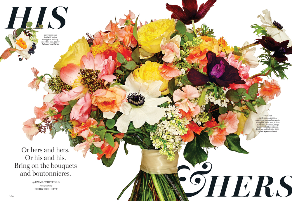 Full Aperture Floral and New York Magazine Flowers Feature 2015