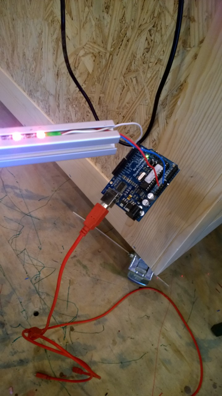 Testing the code with and Arduino