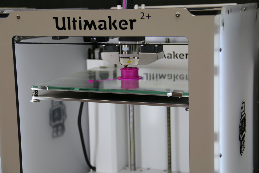 Ultimaker 3D printer in action