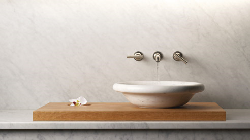 above-counter sinks