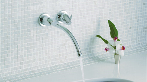 wall mount faucets