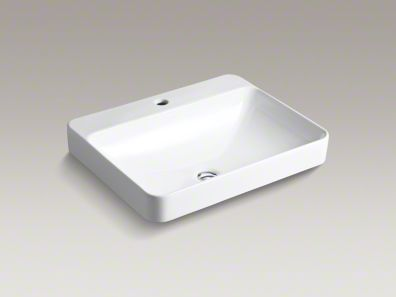 kohler/v ox/rectangle/above-counter/sink