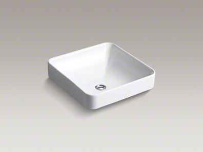 kohler/v ox/square/above-counter/sink