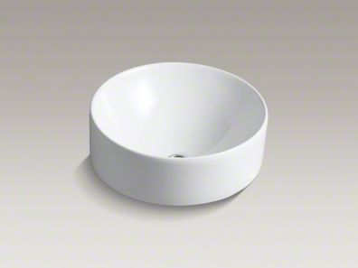 kohler/v ox/round/above-counter/sink