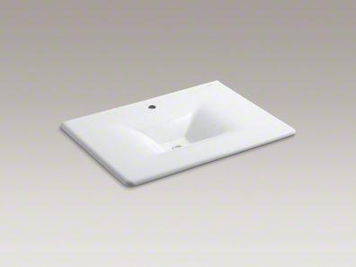 kohler/i ron/impressions/vanity-top/sink