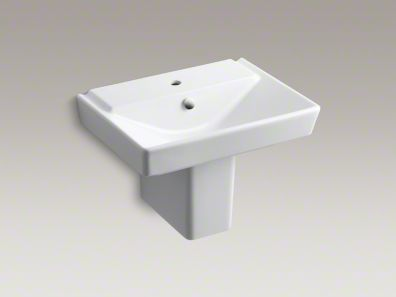 kohler/r eve/wall mount/sink