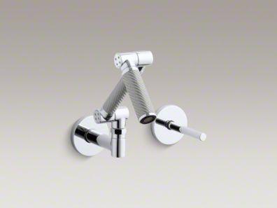 kohler/karbon/wall mount/faucet