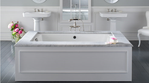 under-mount bath tubs
