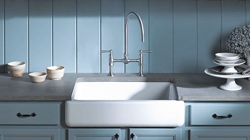 a pron-front sinks