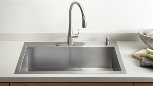 s tainless steel sinks