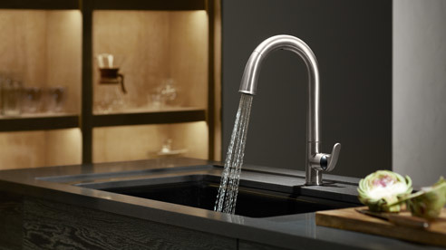 p ull-out faucets