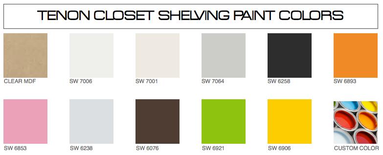 tenon coset paint colors