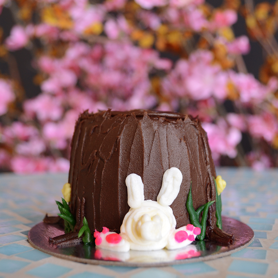 bunny themed cakes